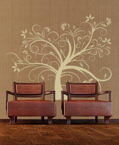 drzewa naklejki na ściany