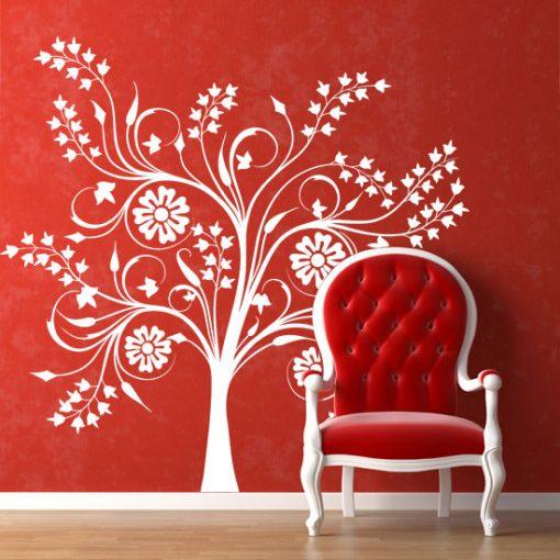 samoprzylepne dekoracje na ściany