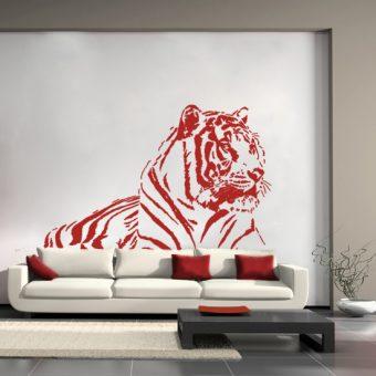 szablon z tygrysem do malowania