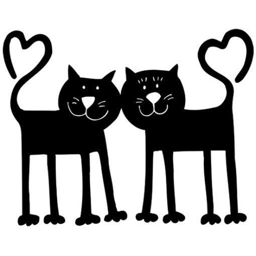 naklejki koty
