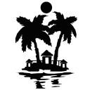 naklejka palma