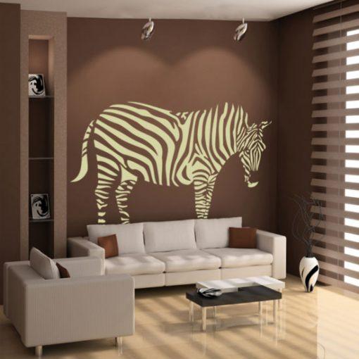 naklejki na ściany zebra