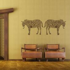 szablon malarski z zebrą