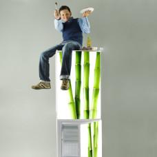 zielone naklejki na lodówki