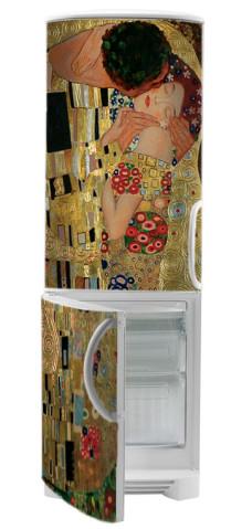 naklejka pocałunek Klimta