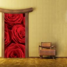 naklejki czerwone róże