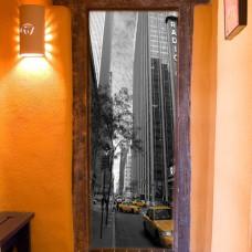 naklejki na drzwi Nowy Jork