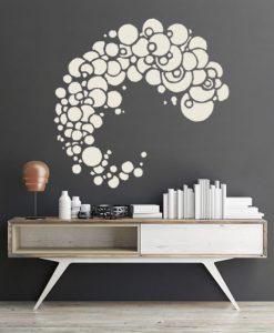szablon na ściany wzory abstrakcyjne