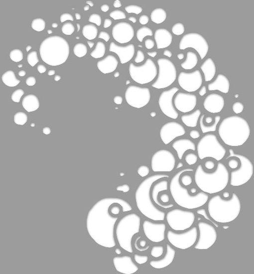 szablon kropeczki