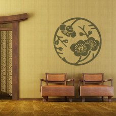 naklejki na ściany storczyki