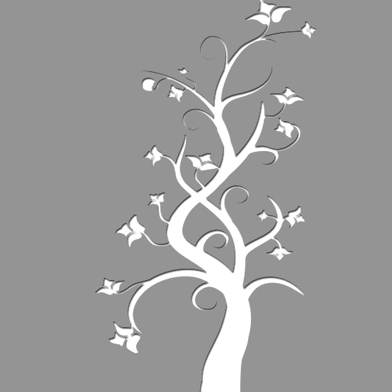 Szablon Malarski Drzewo