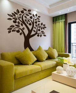 szablon do malowania drzewa