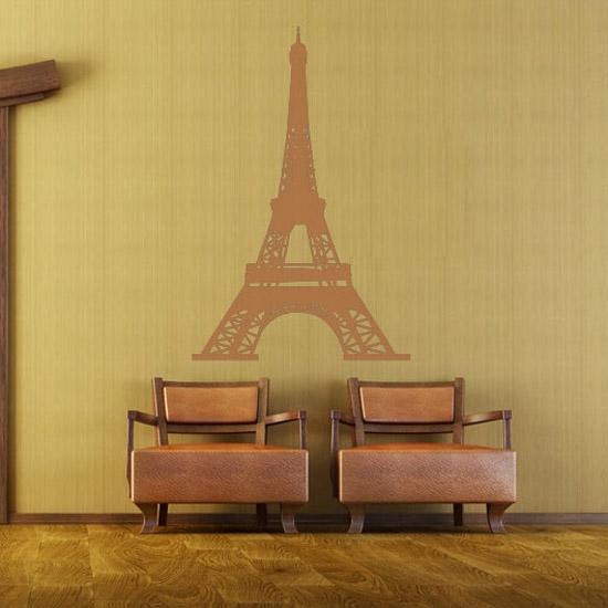 paryskie dekoracje ścian