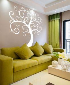 naklejka abstrakcyjne drzewo