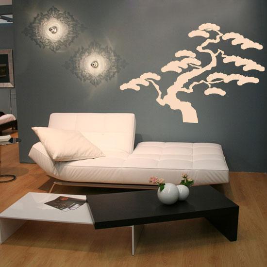 Naklejki Na ściany Drzewko Bonsai