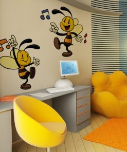 naklejki dla dzieci pszczoły