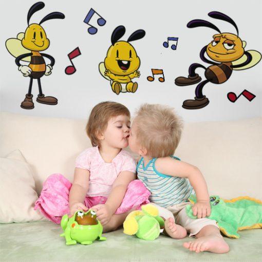 naklejki pszczoły
