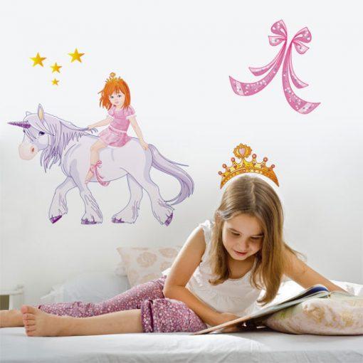 różowe ozdoby do pokoju dziecka
