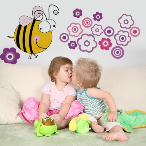 naklejki z pszczółkami