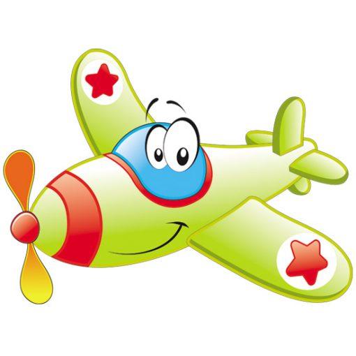 naklejki dla dzieci samoloty