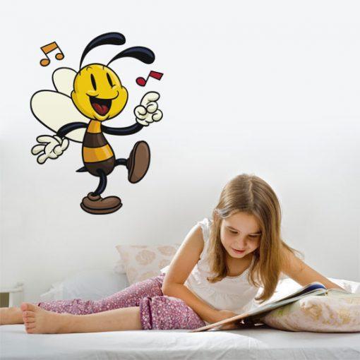 naklejki dla dzieci pszczółki