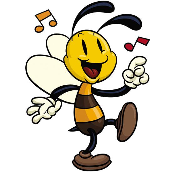 Znalezione obrazy dla zapytania obrazek pszczółki