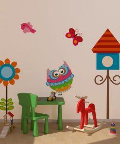 dekoracje na ściany sowy