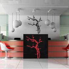 szablony na ścianę drzewa