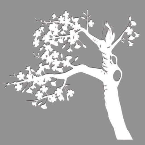 szablony ścienne drzewa