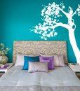 szablony malarskie do sypialni