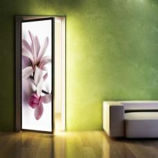 drzwi w kwiaty