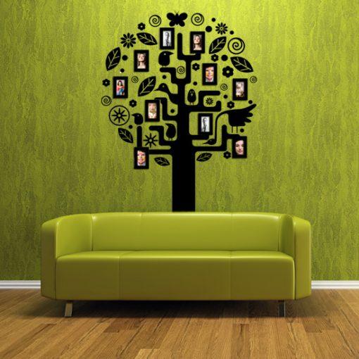 dekoracje ścian rama na zdjęcia
