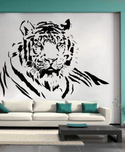 naklejki do salonu tygrys