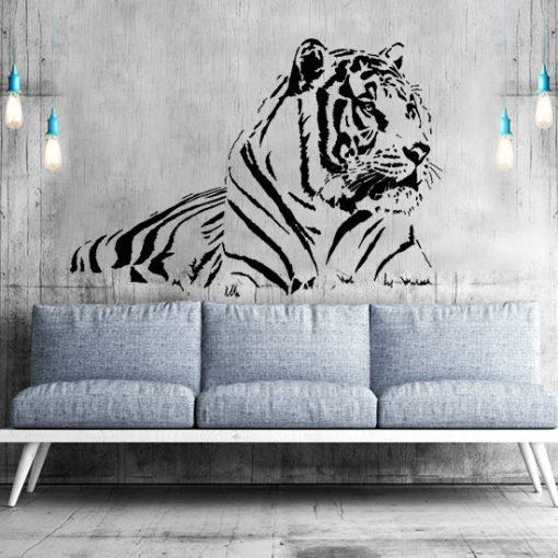 naklejki zwierzęta - tygrysy,zebry,koty