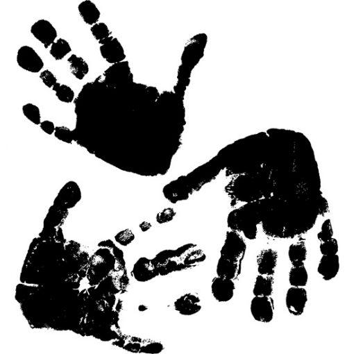 tatuaże ścienne dłonie