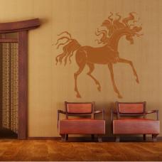 naklejka do salonu koń