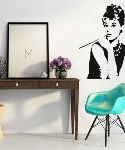 naklejki do salonu Audrey Hepburn