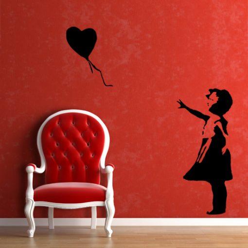 naklejka do salonu Banksy