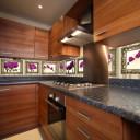 fototapety między szafki w kuchni