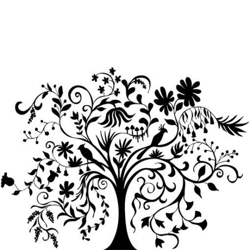 naklejki na ściany drzewo