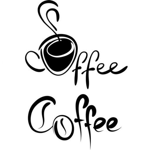 wzory na ściany kawa