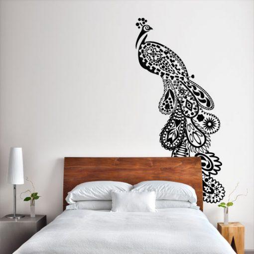 naklejka dekoracyjny paw