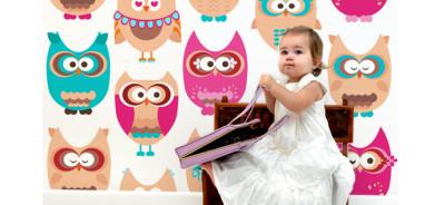 Naklejki do pokoików dziecięcych - fototapety do pokoju dziecka