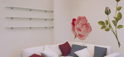 naklejka róże