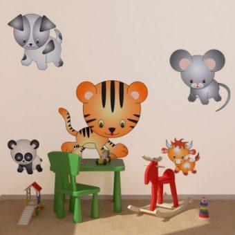 Naklejki dla dzieci do ozdoby pokoju dzieciecego