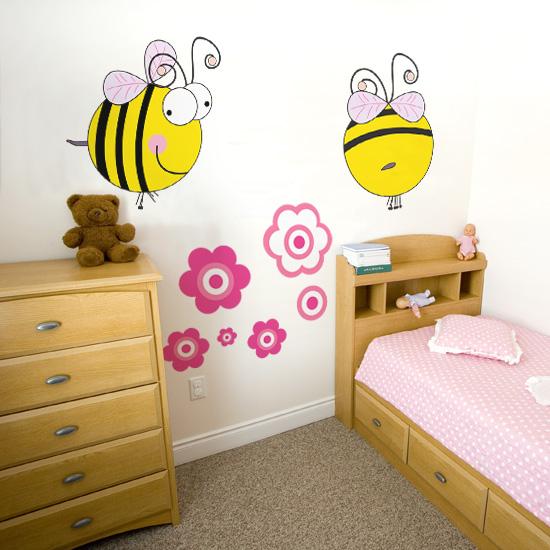 naklejka pszczółki