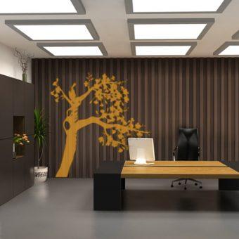 Naklejki drzewa - jednokolorowe lub wielokolorowe na ścianę