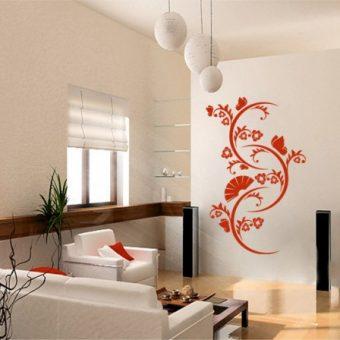 naklejka orientalny ornament roslinny