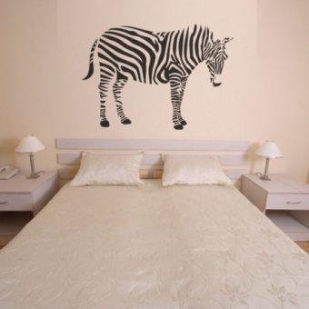 Szablon malarski zebra