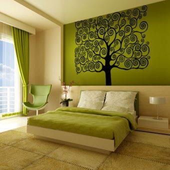 naklejka drzewo jak KLIMT